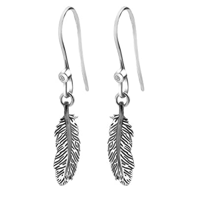 Hot Diamonds Feather Hook Earrings