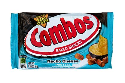 Nacho Cheese Pretzel Combos
