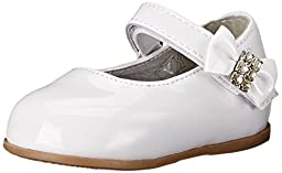 Josmo 50201 Mary Jane Infant dress shoes (Infant/Toddler),White Patent,3