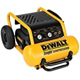 Dewalt D55146R 1.6 HP 4.5 Gal. Oil-Free Wheeled Portable Air Compressor