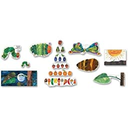 Carson Dellosa Publishing Company Very Hungry Caterpillar Bulletin Board Set, 14 Pieces (CDP110132) Category: Bulletin Boards and Accessories
