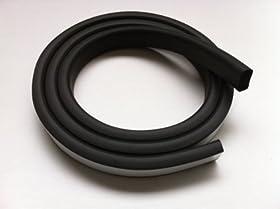 Front Rail Seal 5 1/2 FT EPDM Rubber