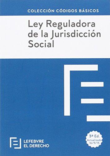 Ley Reguladora De La Jurisdiccion Social - Edición 2 (Códigos Básicos)