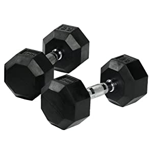 SPRI Deluxe Rubber Dumbbells from SPRI