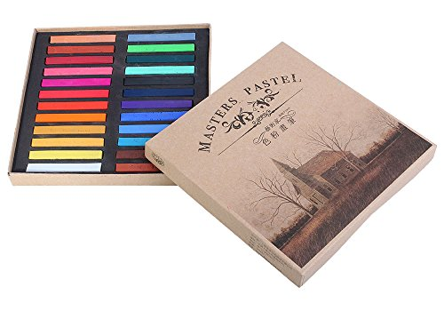 niceeshoptm-24-soft-chalk-pastels-set-for-art-drawing-scrapbooking-more-assorted-colors
