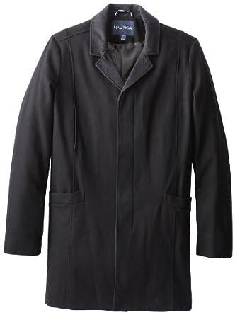 Nautica Wool Blend Car Coat 2X-T