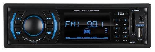 BOSS Audio 612UA In-Dash Single-Din USB/SD/MP3 Player Receiver