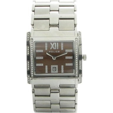 Police Glamour Belle 11183BS/40M Brown Dial Watch