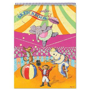 Eeboo Circus Sketchbook