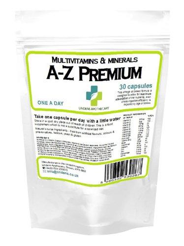Premium A-Z 30 X Multi Vitamin & Minerals