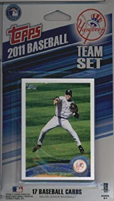 2011 Topps Limited Edition New York Yankees Baseball Card Team Set (17 Cards) - Not Available In Packs!!