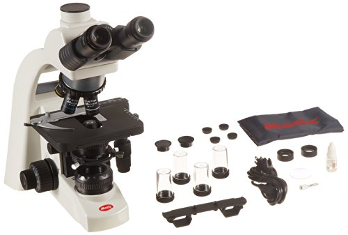 Motic 1100100401331 Series Ba310 Trinocular Upright Microscope, Ccis Ef-N Plan Achromatic Objectives, N-Wf10X/20Mm Eyepieces With Diopter Adjustment