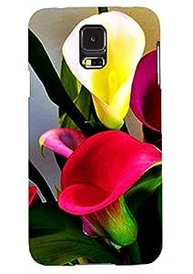 Printing Geeks Designer Flower Printed Back Cover Case For SG4