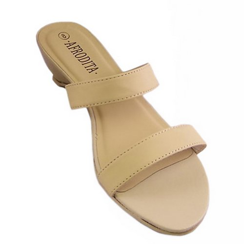 Fashion Apricot Mules US09