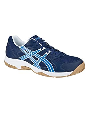 Asics Gel-Doha Running Shoe Navy/Marine Blue/Wht,