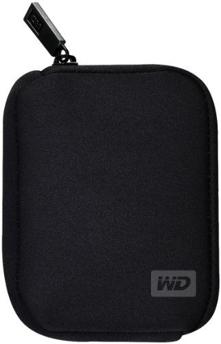 WD WDBABK0000NBK-WRSN My Passport Carrying Case - Black