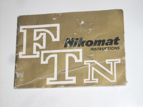 1969 NIKOMAT FTN 35mm Camera Instructions Manual, Made in Japan (35mm Developer compare prices)
