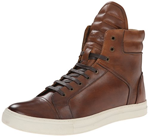 Kenneth Cole New York Men's Double Header LE Fashion Sneaker, Cognac, 11 M US