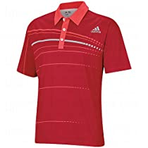 Adidas Mens Pga Championship Polos Medium Red/Coral/Chrome
