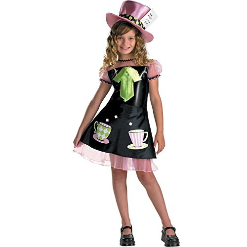 [Disguise DI3063-M Medium Mad Hatter Child Costume] (Kids Mad Hatters Tea Party Costumes)