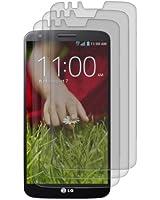 3x kwmobile film de protection pour écran MAT et ANTI-REFLETS avec effet anti-traces de doigts pour LG G2. QUALITÉ SUPÉRIEURE