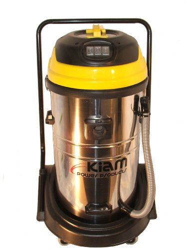 Kiam KV-80 Triple Motor Wet  &  Dry Industrial Vacuum Cleaner