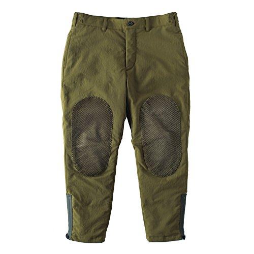 Monro(モンロ) パンツ BOHEMIAN CROPPED PANTS/STRETCH DOWN 910140850 Olive(オリーブ) 2 (M)