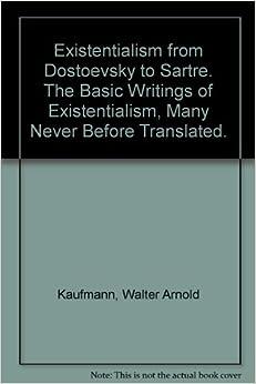 Sartre existentialism essay text