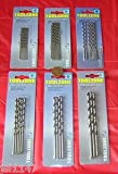 FUM Tools Long Series Drill Bits Hss 4241, Tools, 5.0mm 4pc