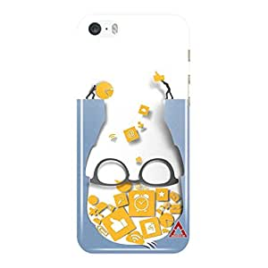 a AND b Designer Printed Mobile Back Cover / Back Case For Apple iPhone 5 / Apple iPhone 5s (5S_3D_3375)
