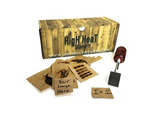 High Heat Stamp: Custom Logo Branding Iron (1