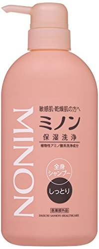 MINON(ミノン) 全身シャンプー しっとりタイプ 450mL 【医薬部外品】