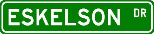 ESKELSON Street Sign ~ Personalized Family Lastname Novelty Sign ~ Gameroom, Basement, Garage Sign ** Aluminum 4 x 18 - Buy ESKELSON Street Sign ~ Personalized Family Lastname Novelty Sign ~ Gameroom, Basement, Garage Sign ** Aluminum 4 x 18 - Purchase ESKELSON Street Sign ~ Personalized Family Lastname Novelty Sign ~ Gameroom, Basement, Garage Sign ** Aluminum 4 x 18 (The Lizton Sign Shop, Home & Garden,Categories,Patio Lawn & Garden,Outdoor Decor)