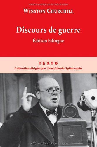 Discours de guerre (French Edition)