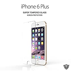 MoArmouz® - Super Tempered Glass Screen Protector For iPhone 6 Plus/6S Plus Ultimate Shield Protector - Transparent Anti Scratch & Schockproof - Bubble-Free Screen Shield / Screen Guard / Guaranteed Quality / HD /9H Hardness 3D Touch Compatible / Mobile Accessories / Screen Protectors