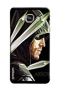 Omanm Arrow Man Giving Pose Printed Designer Back Cover Case For Sumsang Galaxy S7