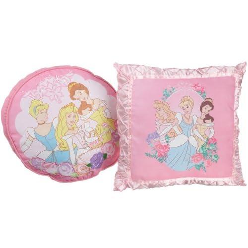 Amazon.com - Disney Princess Elegance Decorative Pillow, Pack of 2 - Throw Pillows