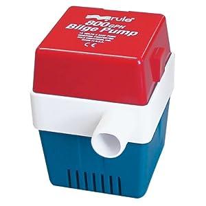 Buy Rule 20F Marine Rule 800 Square Marine Bilge Pump (800-GPH, 12-Volt) by Rule