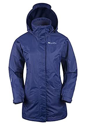 Mountain Warehouse Womens Long Winter Waterproof Rain