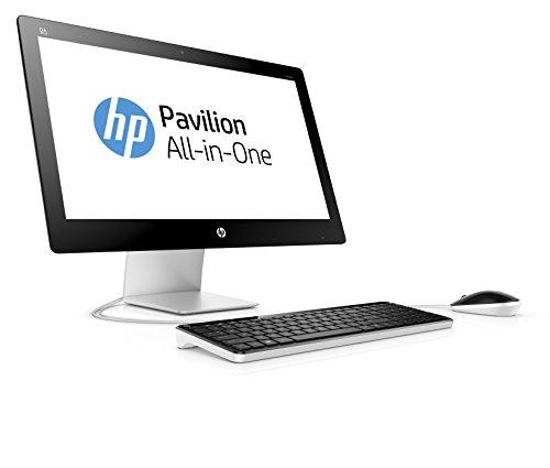 HP Pavilion 23-q104nl All-in-One, Windows 10, Processore Intel Core i5-4460T, RAM 8 GB DDR3L, HDD SATA da 1 TB, Schermo Retroilluminato a LED FHD 23