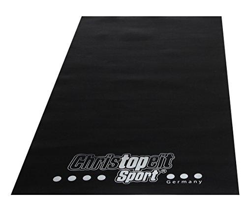 Christopeit Bodenschutzmatte, schwarz, 120 x 60 x 0.3 cm,...