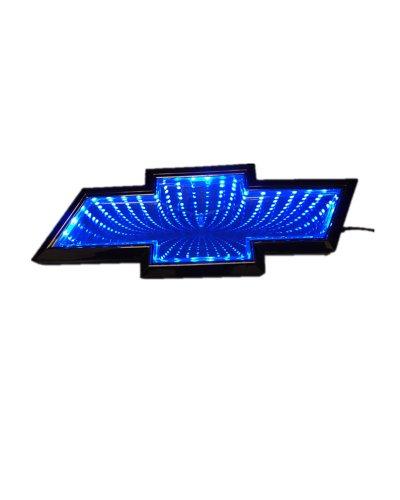 Nadotuning Car 3D Led Logo Lights Emblem Badge Sticker Lamp For Chevrolet Cruze Blue New