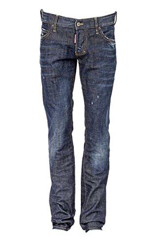 Dsquared² Herren Jeans Slim Leg SLIM JEAN, Farbe: Dunkelblau, Größe: 48 thumbnail