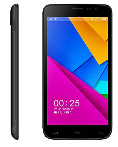 Que Products 5.5 Unlocked Android Smartphone with Dual Core 1.3Ghz Processor, Cortex A7 with 5.5 Inch Screen - Unlocked (Black)