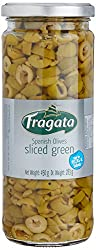 Fragata Green Olives, Sliced, 450g