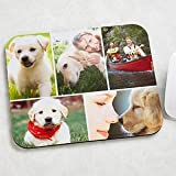 Personalized Mouse Pad Pet Photo Montage - Horizontal