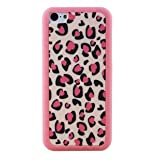 SecretCase Ero Fancy Pattern Hard Shell Case for iPhone 5C--Pink Leopard