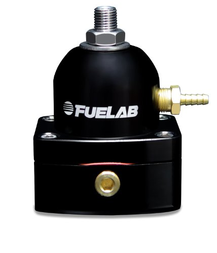 Fuelab 51502-1 Universal Black EFI Adjustable Fuel Pressure Regulator (Regulator Fuel Universal compare prices)