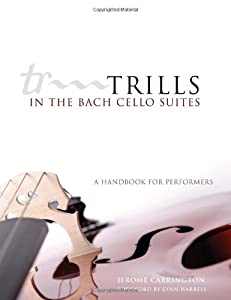 Trills In The Bach Cello Suites A Handbook For Performers by University of Oklahoma Press