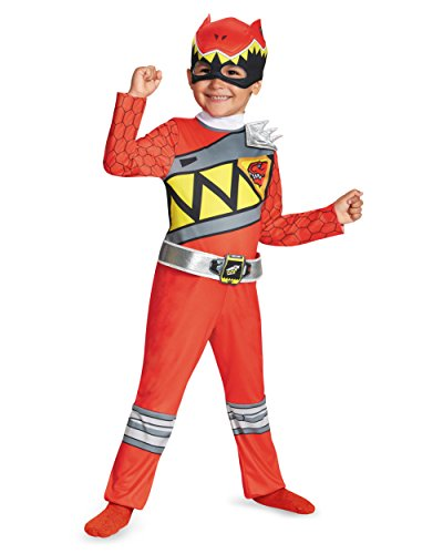 Red Ranger Power Rangers Dino Charge Classic Toddlers Costume
